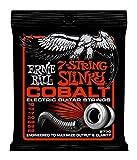 【正規品】 ERNIE BALL ギター弦 コバルト 7弦 スキニ―トップ・ヘビーボトム (10-62) 2730 Cobalt 7-String Skinny Top Heavy Bottom
