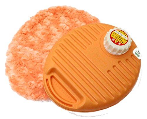 辻本プラスチック 湯たんぽ プチ 袋付 0.9L オレンジ