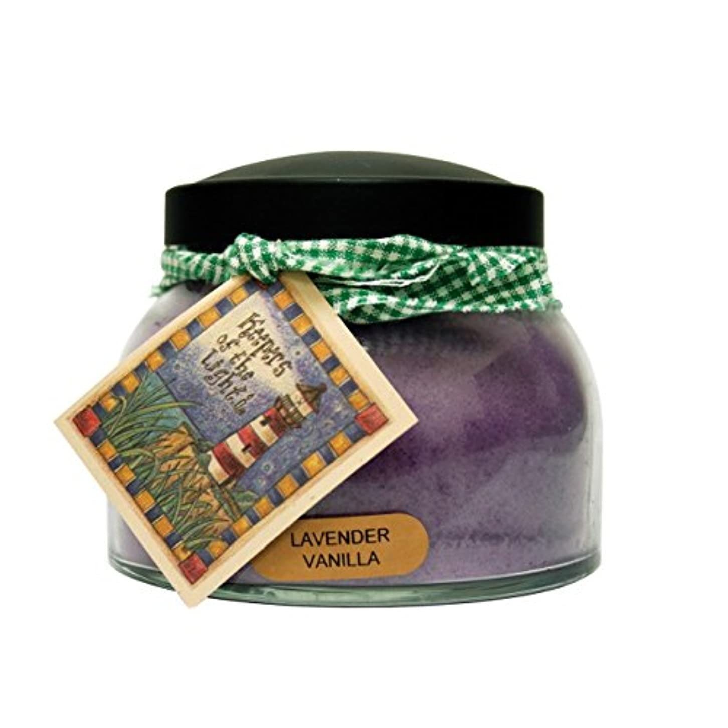 月時期尚早スクラブA Cheerful Giver Lavender Vanilla Mama Jar Candle, 22-Ounce [並行輸入品]