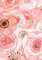 igsticker ポスター ウォールステッカー シール式ステッカー 飾り 515×728㎜ B2 写真 フォト 壁 インテリア おしゃれ 剥がせる wall sticker poster 011097 花 水彩 ピンク
