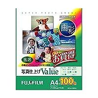 富士フイルム・インクジェットペーパー・画彩・写真仕上げ・Value・A4・100枚・WPA4100VA