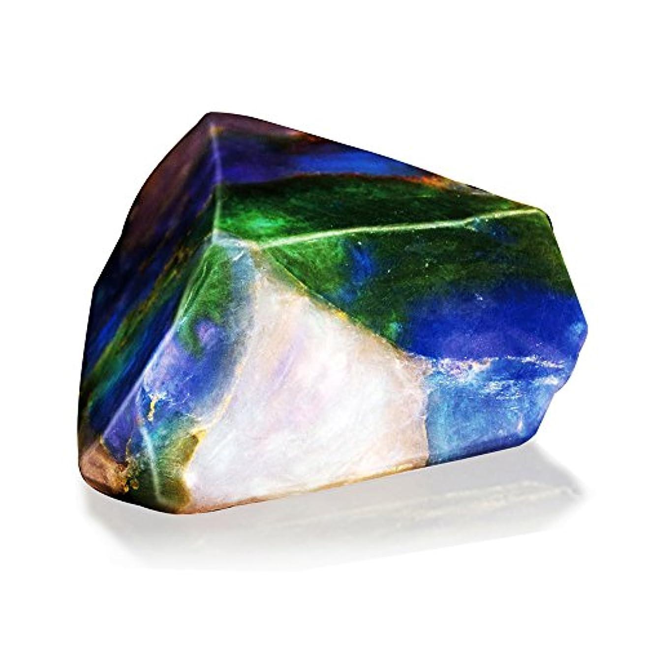 フロービーズ楕円形Savons Gemme サボンジェム 世界で一番美しい宝石石鹸 フレグランス ソープ オパール ミニ 114g