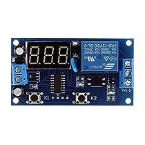 新しい到着遅延時間モジュール多機能スイッチ制御リレー サイクル遅延タイマー モジュール dc 12v-time-delay-relay モジュール