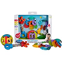 Playgro 4 Piece Twist and Chew Activity Gift Pack by Playgro