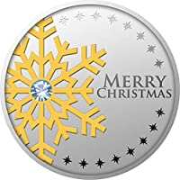 FIRST STAR Christmas Silver Coin 500 Francs Cameroon 2019
