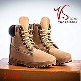VSTOYS 1/6 スケール ハイキングブーツ ブーツ アウトドア クライミング 靴 ドール 兵士 女性 12インチ PHICEN 1/6素体 18XG023B