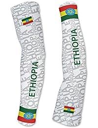 エチオピアScudoPro Compression Arm Sleeves UV保護ユニセックス – Walking – サイクリング – Running – ゴルフ – 野球 – バスケットボール