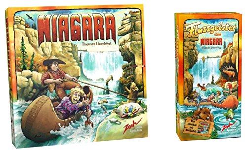 ナイアガラ + 拡張セット 川の精 バンドル (Niagara: Flussgeister am Niagara) ボードゲーム