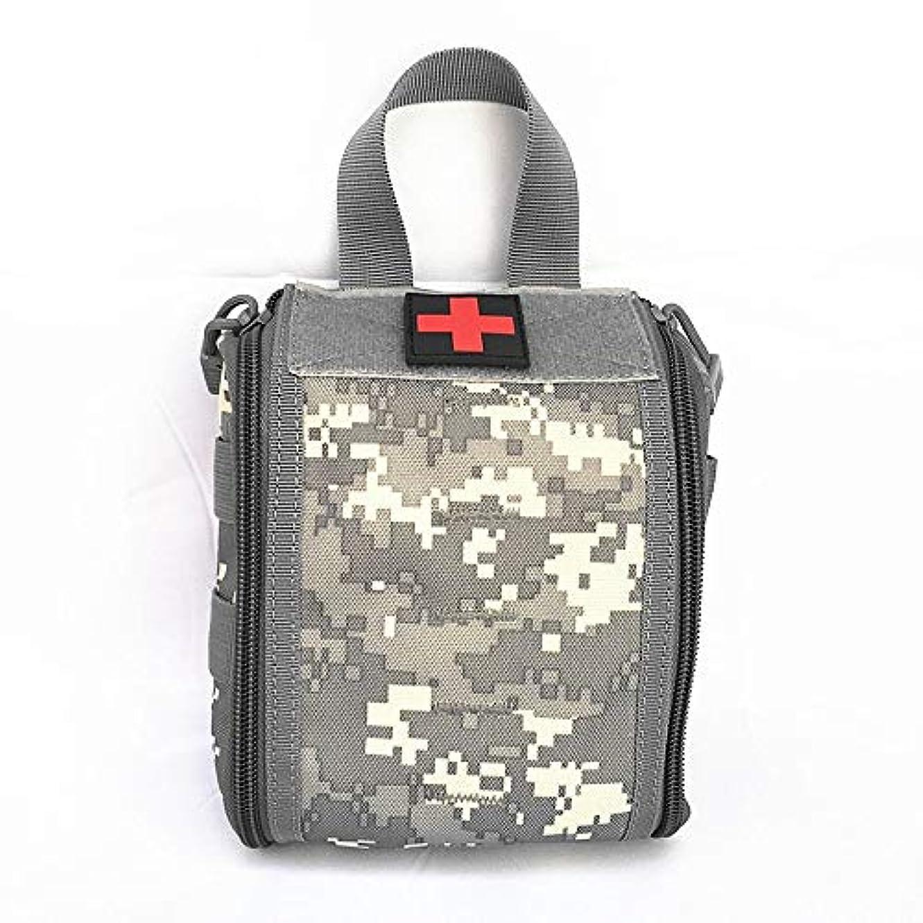 電気的人道的ツーリスト医療パッケージアウトドアスポーツ旅行登山救急箱ケアサバイバル用品緊急キット (Color : E, Size : 19.5*16*7cm/7.7*6.3*2.8in)