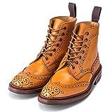 [トリッカーズ] カントリーブーツ ストウ ダイナイトソール ウィングチップ エイコン 5634/24 Stow Dainite sole Acorn Antique メンズ ブーツ ブローグシューズ レザー 本革 [並行輸入品]