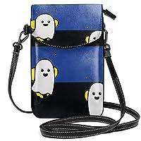 ブービーブルー細い線 ス い スマホポーチ 財布 携帯電話ポーチ ショルダーバッグ 肩掛け 斜めがけ カジュアル 勤かばん