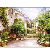 壁紙壁画都市庭風景テレビ背景リビングルームベッドルーム背景壁紙用壁 330*210cm
