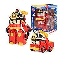 変形ロボット変形玩具モデル玩具ギフト玩具飾り(ロイレッド)