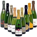 本格シャンパン製法だけの厳選泡9本セット((W0S910SE))(750mlx9本ワインセット)
