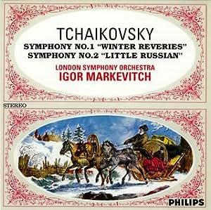 チャイコフスキー:交響曲第1&2番