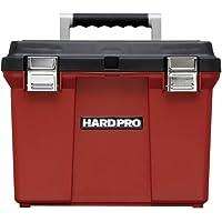 アイリスオーヤマ 工具箱 ハードプロ 45 ダークグレー/レッド【幅約40×奥行約34×高さ約31cm】