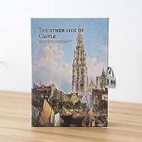 ブック 瞳多機能 ノートブックロック 私の秘密日記 ロック 韓国文具 ヴィンテージジャーナルノートブック 旅行