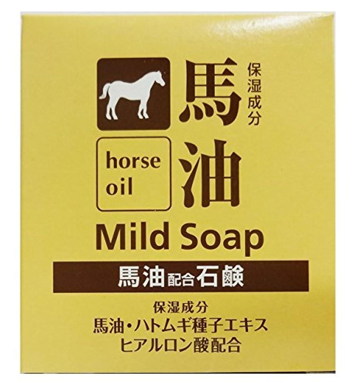 コレクション鋼二週間TKコーポレーション 馬油配合石鹸 100g