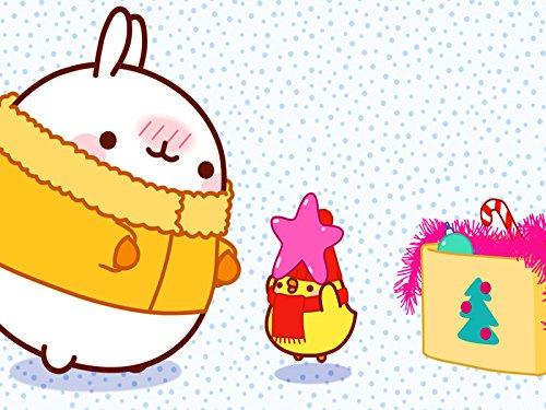 クリスマスツリー/小包/サプライズ/スキー