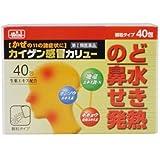 【指定第2類医薬品】カイゲン感冒カリュー PB 40包
