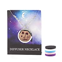 Mystic Moments | Paradise Island | Aromatherapy Oil Diffuser Pendant Necklace with Pad