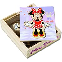 Minnie Wooden Mix and Match Dress-Up Play Set [並行輸入品]