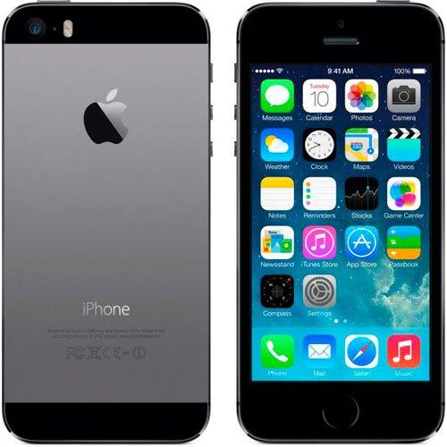 新しい工場ロック解除~ 16GBスペースグレーApple iPhone five-s ~ブラックFast Shipping Ship Worldwide特別なギフトto Everyone