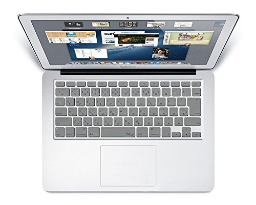MS factory MacBook Air 13 / Retina 13 (Late2012-Early2015) / Retina 15 (Mid2012-Mid2015) インチ キーボード カバー 日本語 JIS配列 Air13 Retina13 Retina15 インチ キーボードカバー RMC series グレー 灰色 RMC-KEY-ARGY