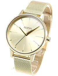 8cc6355b63 [ニクソン]NIXON ケンジントン ミラネーゼ KENSINGTON MILANESE 腕時計 レディース ALL GOLD NA1229502-00  [