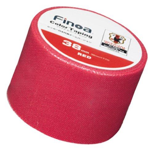 Finoa(フィノア) カラーテーピング サッカー日本代表チームバージョン レッド (3.8cm×7.7m×1P) 1653