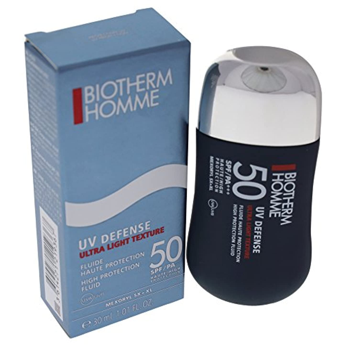 観察する色合いナビゲーションHomme UV Defense High Protection Fluid SPF 50