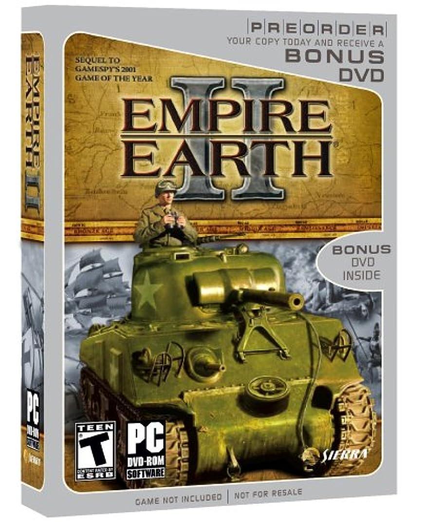 謝る周辺受け継ぐEmpire Earth 2 Pre-sell (with Bonus DVD) (輸入版)