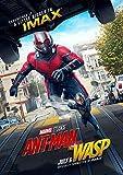 映画 アントマン&ワスプ 映画 ポスター 42x30cm MARVEL アベンジャーズ Ant-Man and the Wasp 2018 ポール ラッド エバンジェリン リリー マーベル シネマティック ユニバース