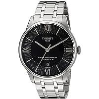 [ティソ] TISSOT 腕時計 シュマン・デ・トゥレル オートマティック パワーマティック80 ブラック文字盤 ブレスレット T0994071105800 メンズ 【正規輸入品】