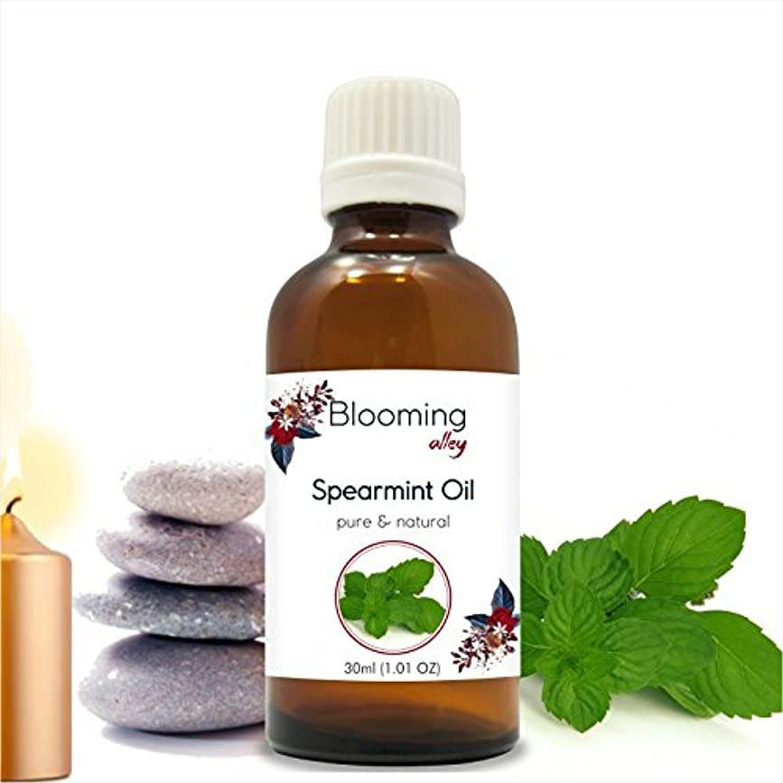 定説きしむ前進Spearmint Oil(Mentha Spicata) Essential Oil 30 ml or 1.0 Fl Oz by Blooming Alley