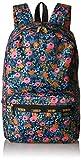 レスポートサック リュック LeSportsac Women's Rifle Paper X Essential Backpack Rosa [並行輸入品]