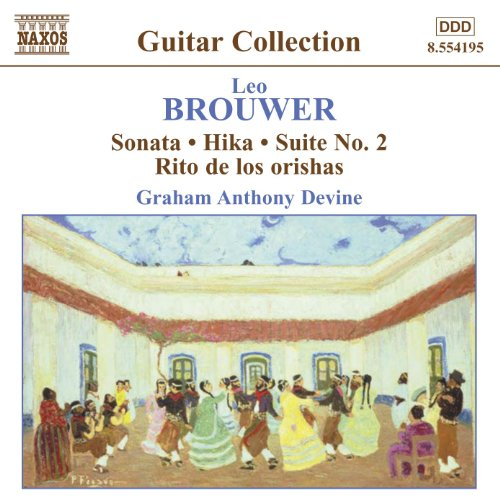 Brouwer: Guitar Music, Vol. 3 ...