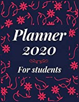 Planner 2020 for students: Jan 1, 2020 to Dec 31, 2020 : Weekly & Monthly Planner + Calendar Views (2020 Pretty Simple Planners)