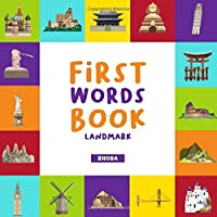First Word Book: Landmarks Picture Book For Baby