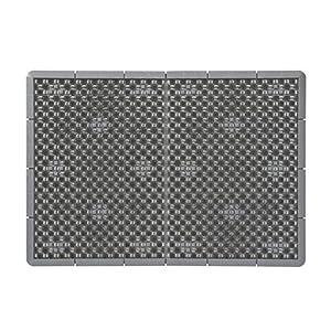 山崎産業 泥っぷマット #6 グレー 60×85cm