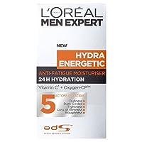 L'Oreal Paris Men Expert Hydra Energetic Anti-Fatigue Moisturising Lotion (50ml) L'オラ?アルパリのメンズ専門ヒドラエネルギッシュな抗疲労保湿ローション( 50ミリリットル) [並行輸入品]