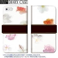 301-sanmaruichi- iPhone6splus ケース iPhone6plus ケース 手帳型 おしゃれ 花柄 花 植物エレガント D 手帳ケース