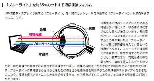 エレコム 液晶保護フィルム 日本製 ブルーライトカット 15.6 インチ  EF-FL156WBLGN
