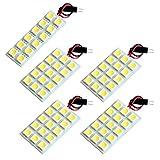 【断トツ216発!!】 C27 新型 セレナ ハイウェイスター LED ルームランプ 5点セット [H28.7~] ニッサン 基板タイプ 圧倒的な発光数 3chip SMD LED 仕様 室内灯 カー用品 HJO