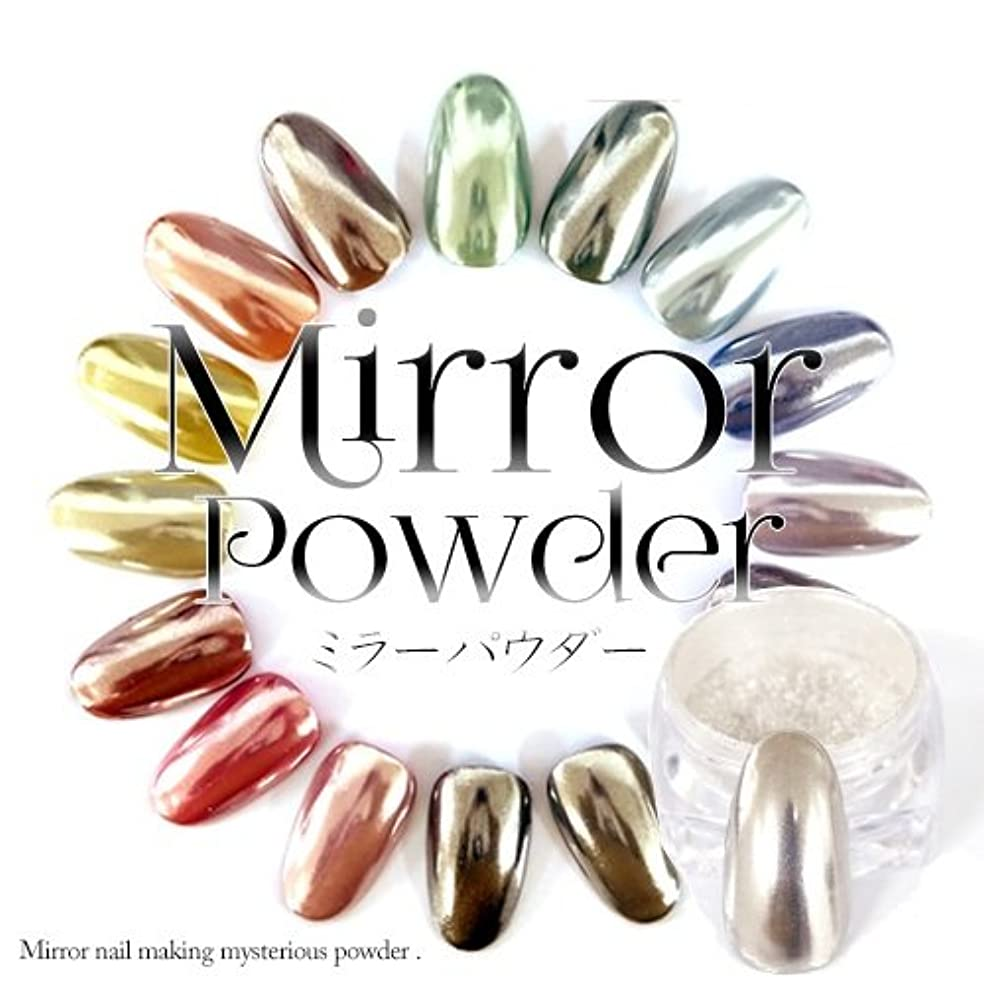 現代貝殻タクト高品質ミラーパウダー/シルバー 「irogel」不思議な粉 クロムパウダー ネイルパウダー ミラーネイル