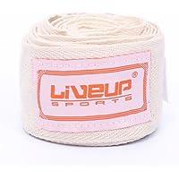 LiveUP Sports (ペア)ハンドラップボクシングキックボクシングムエタイ総合格闘技 – 用コットンメキシコのスタイルをHandwraps for Combatスポーツ – ls3085