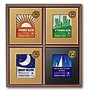 マメーズ ドリップコーヒー 20個入 ギフトセット (4種類20個) 3種のデザインブレンド と ブルーマウンテン ブレンドの贅沢セット