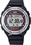 [シチズン キューアンドキュー]CITIZEN Q&Q 腕時計 SOLARMATE (ソーラーメイト) 電波ソーラー デジタル表示 クロノグラフ 10気圧防水 ブラック MHS7-300 メンズ