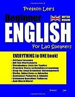 Preston Lee's Beginner English For Lao Speakers (British)