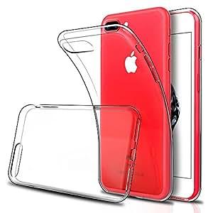 iPhone 8 Plus / iPhone 7 Plus ケース, Simpeak クリア TPU透明保護カバー アイフォン 8 プラス / 7 プラス 衝撃吸収 耐衝撃 [一枚]